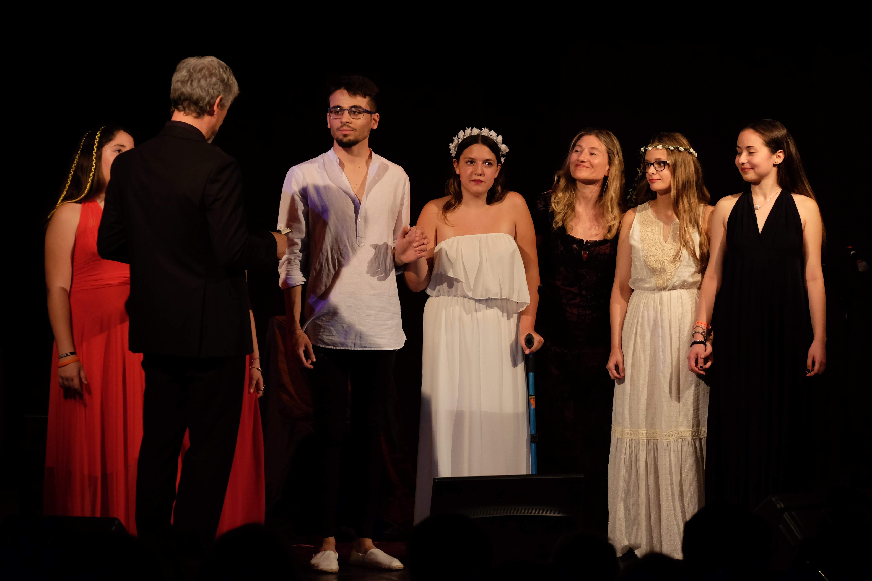 Scuola di musica Ro.Gi saggio 2018 - teatro la Salette, Roma